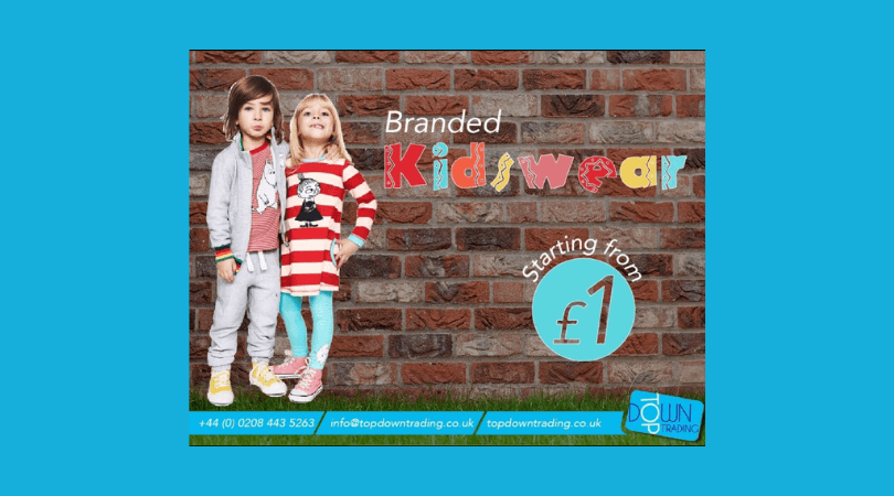 Looking for Wholesale Children's UK Fashion Clothing?
